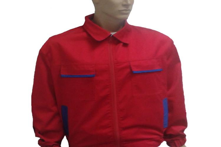 Blouse Red - Blue