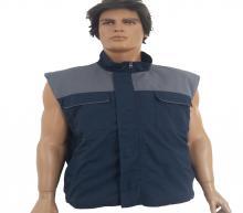 Dark - gray vest