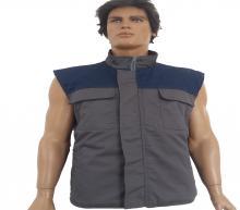 Gray - blue vest