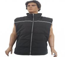 Stitched black vest