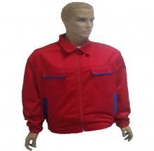 Bluse Rot - Blau