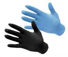 One-time without powders gloves-NITRILE