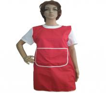 Red-white aprons